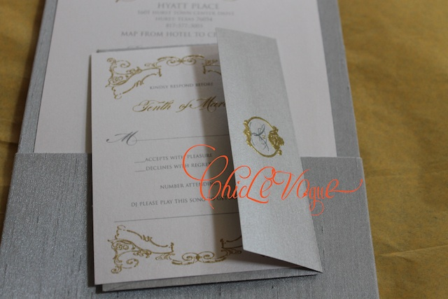 custom wedding invitations silk folios
