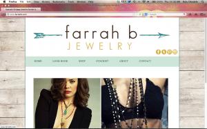 Farrah B Website